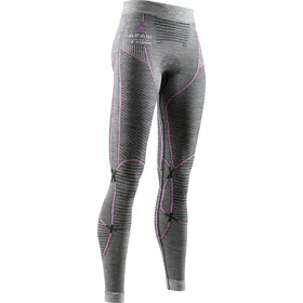 X-Bionic Apani 4.0 Spodnie Merino Kobiety, black/grey/magnolia